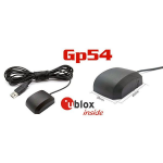 GP-54 USB δέκτης GPS-GLONASS με UBLOX 6010.
