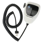 Motorola [GMN6122] βαρέως τύπου μικρόφωνο χειρός για Motorola MC Micro.