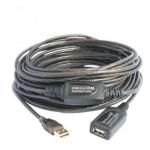 15 μέτρων USB 2.0 καλώδιο χαμηλών απωλειών 480Mbps Alfa Network AUSBC-15M.