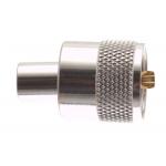 PL male βιδωτός connector για RG58.