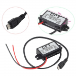 DC μετατροπέας απο 12V σε 5V με Micro USB connector max 3A 15W