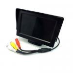 LM-M04 monitor 4.3'ιντσών με βάση και μία (1) είσοδο για κάμερα