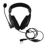 OEM Ακουστικό- μικρόφωνο κεφαλής PTT/VOX για ασυρμάτους WOUXUN- BAOFENG- KENWOOD-TYT