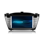 "Hyundai IX35 / Dynavin Car Multimedia 7"" με GPS / USB/ Bluetooth/ CD/ DVD/ Radio/ RDS"
