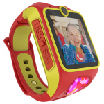 Myki™ Junior (ΚΙΤΡΙΝΟ-ΚΟΚΚΙΝΟ) παιδικό ρολόι- 3G κινητό με κάμερα, GPS και δυνατότητα Video-κλήσης !