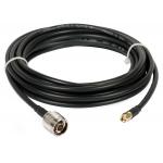 5-μέτρα oμοαξονικό καλώδιο χαμηλών απωλειών τύπου LMR240 με connectors N(M)- SMA(M)