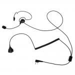 RETEVIS 2 Pin Earpiece Mic Finger PTT Headset για Kenwood Retevis BAOFENG πομποδέκτες