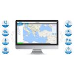 Poc Dispatcher για επικοινωνία, εντοπισμό Π/Δ και λήψη σημάτων SOS.