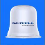 SeaCell DG-137 ναυτική κεραία υψηλής απολαβής πανκαντευθυντική 360° επίγειας ψηφιακής λήψης TV