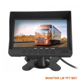 LM-M07 monitor 7.0'ιντσών με βάση και δύο (2) είσοδοι για κάμερα