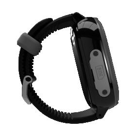 Myki™ Watch 4 Lite (Μαύρο χρώμα) αδιάβροχο IP67 παιδικό ρολόι-κινητό με selfie κάμερα και δέκτη GPS.