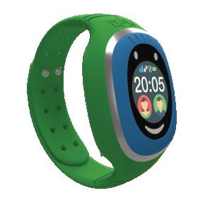 Myki™ Touch (πράσινο) παιδικό ρολόι- κινητό με GPS και αισθητήρα αφαίρεσης απο τον καρπό του παιδιού.