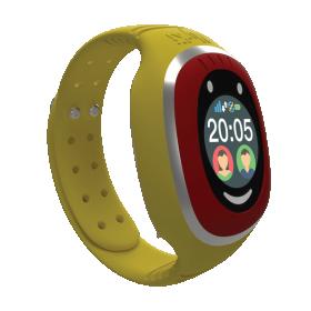 Myki™ Touch (κίτρινο) παιδικό ρολόι- κινητό με GPS και αισθητήρα αφαίρεσης απο τον καρπό του παιδιού.